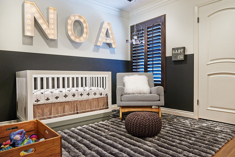 Picture of: Modern Nursery Bedding Style