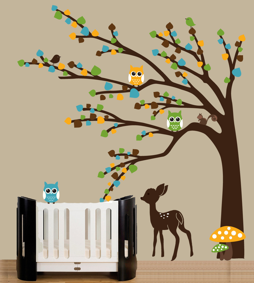 Picture of: Modern Nursery Decals