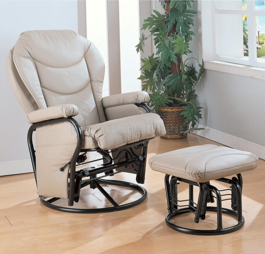 Image of: Modern Rocker Recliner Nursery