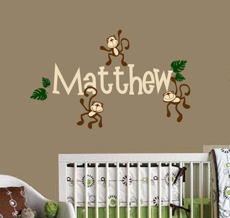 Monkey Nursery Decor 2015