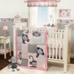 Monkey Nursery Decor Girl