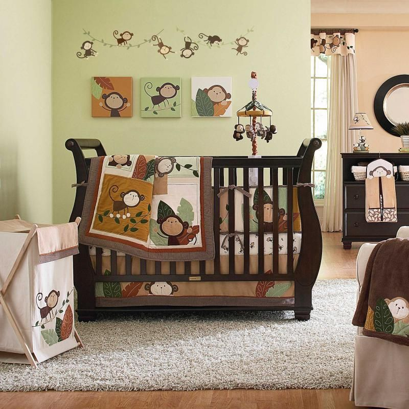Image of: Monkey Nursery Decor Image