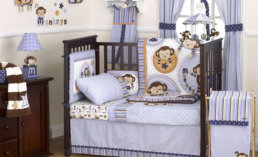 Image of: Monkey Nursery Decor Photos