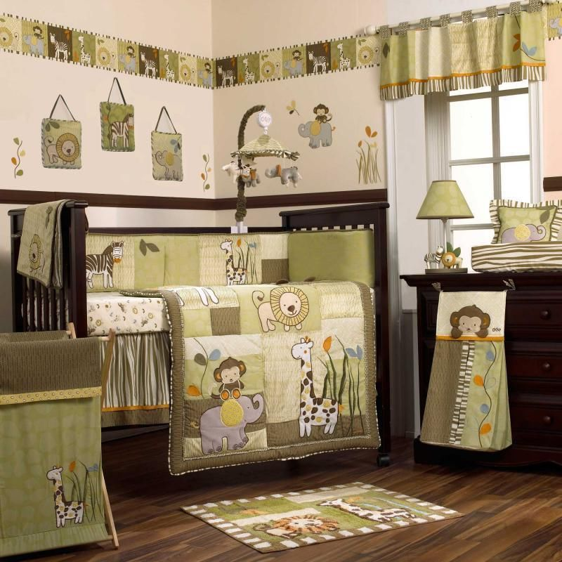 Image of: Monkey Nursery Decor Picture