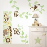 Monkey Nursery Decor Wall Decal