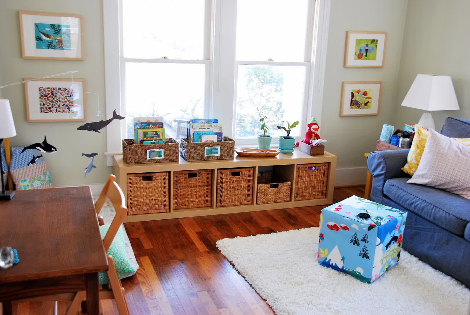 Image of: Montessori Nursery Design