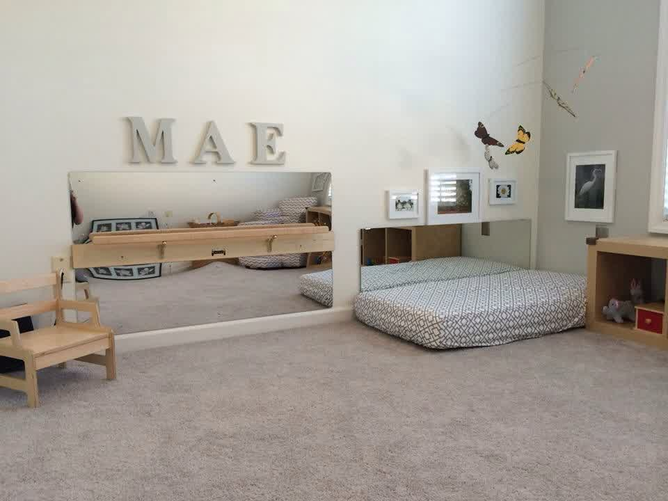 Image of: Montessori Nursery Inspirations