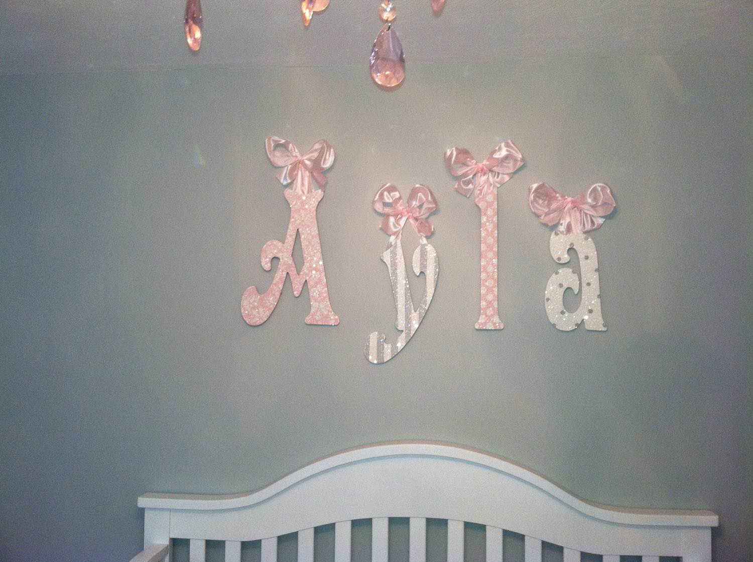 Picture of: Name Wall Letters for Nursery