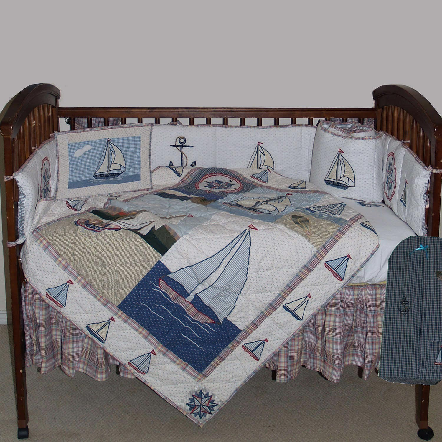 Image of: Nautical Nursery Bedding Sets