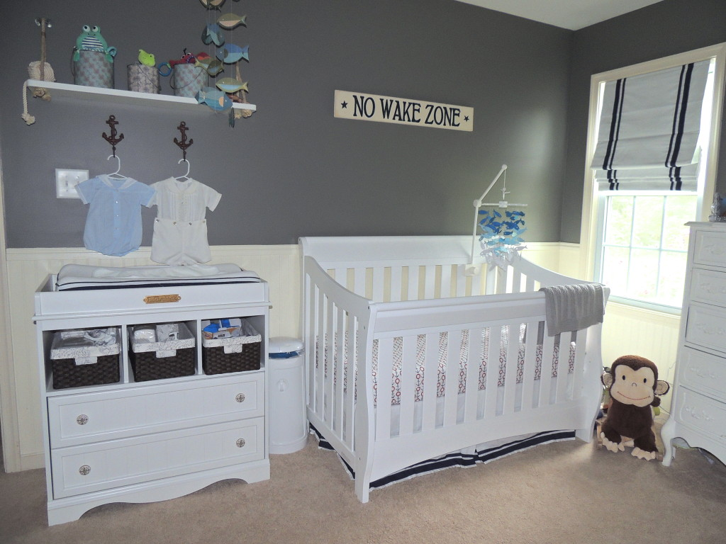 Picture of: Nautical Nursery Decor Image