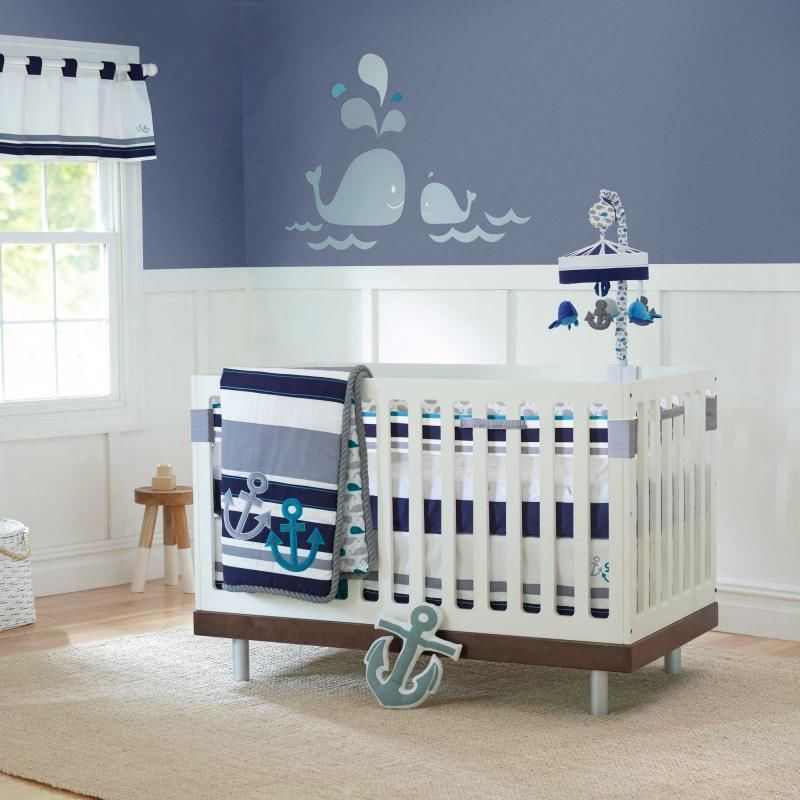 Picture of: Nautical Themed Nursery Bedding