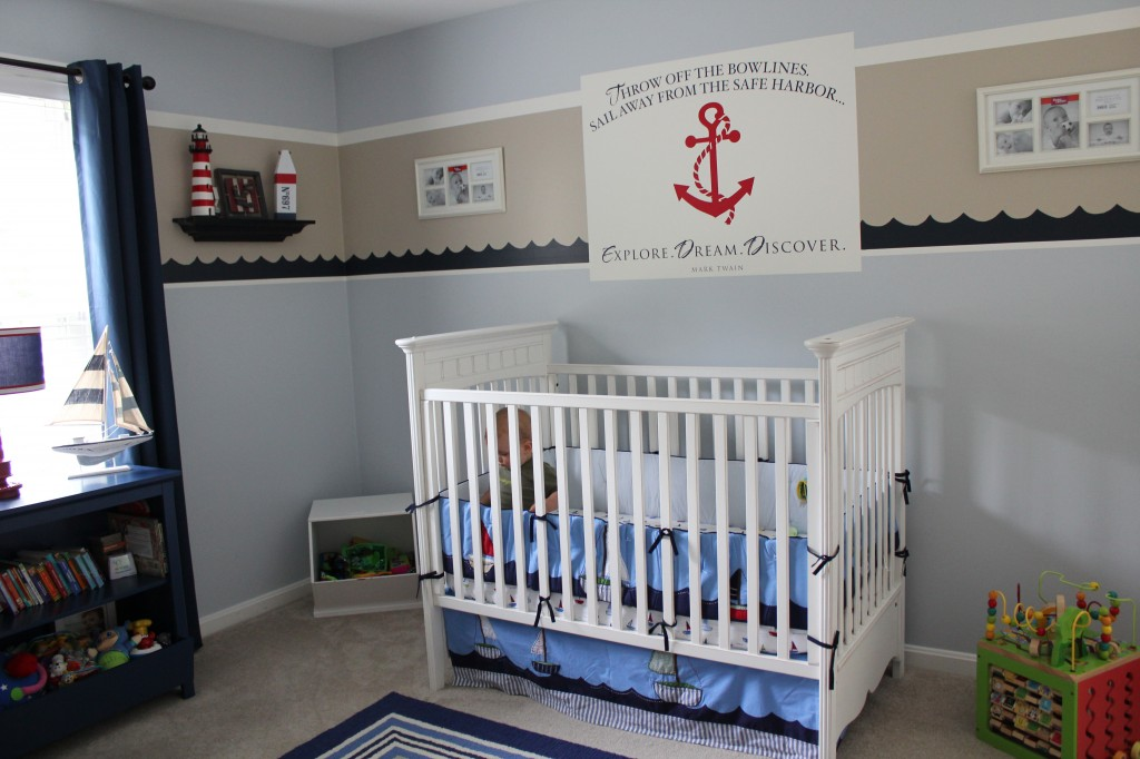 Picture of: Nautical Themed Nursery Image