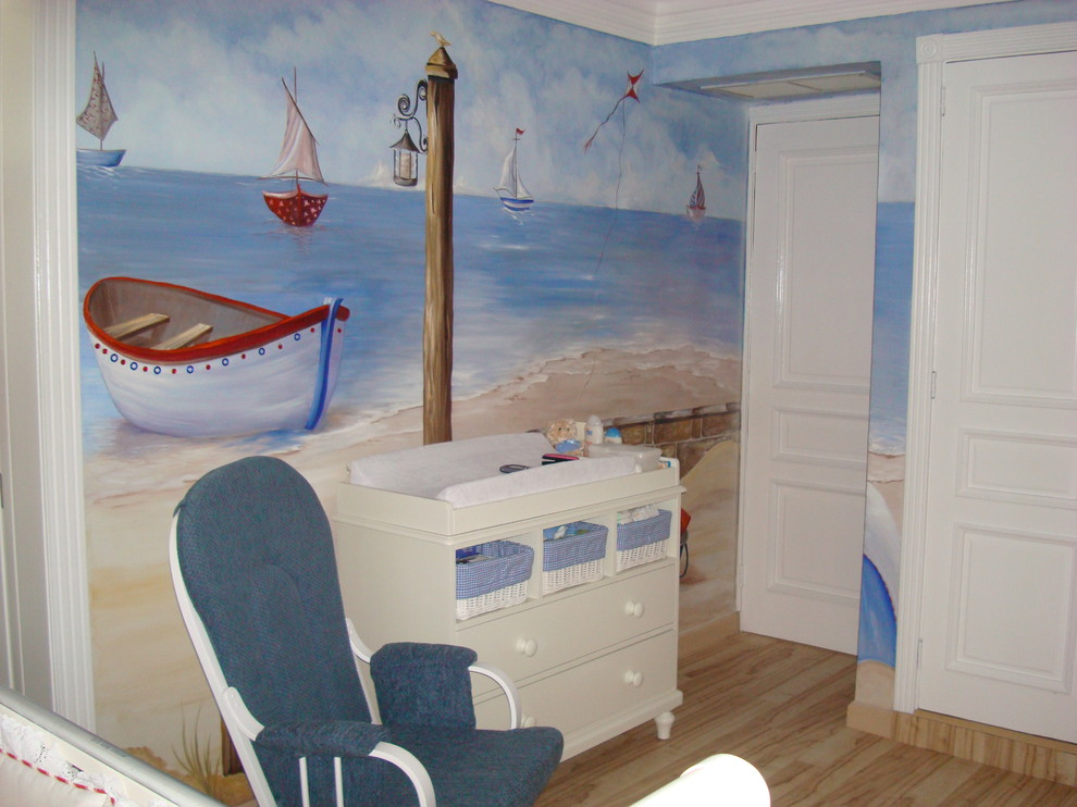 Picture of: New Nautical Themed Nursery