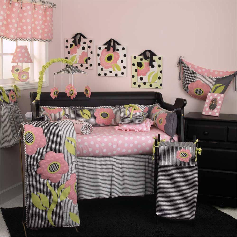 Picture of: Nice Baby Girl Nursery Bedding