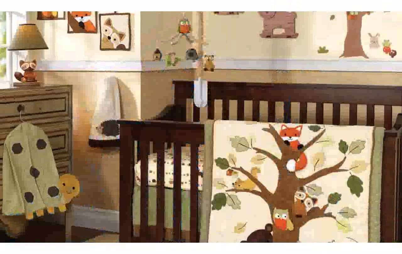 Image of: Nice Forest Themed Nursery