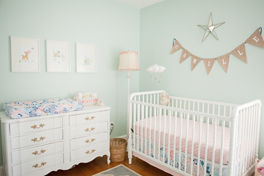 Nice Modern Nursery Bedding
