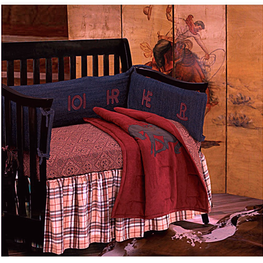 Picture of: Nice Western Nursery Bedding