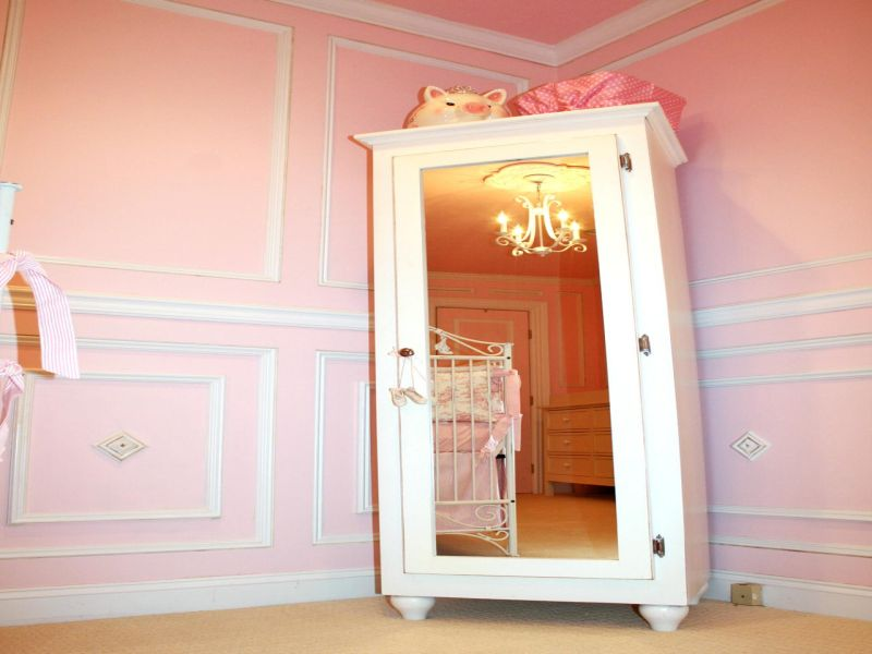Nursery Armoire Pink Color