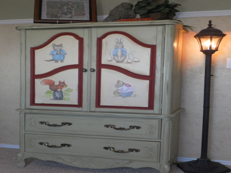 Nursery Armoire Simple