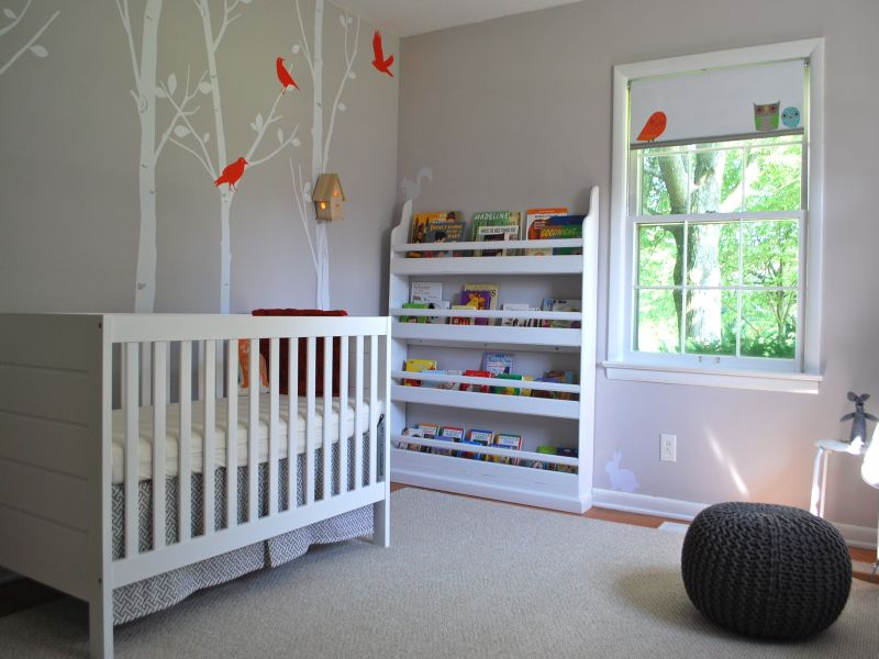 Nursery Bookshelf Beautiful Design