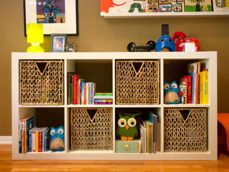 Picture of: Nursery Bookshelf Box