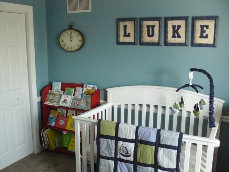 Picture of: Nursery Bookshelf Decorative