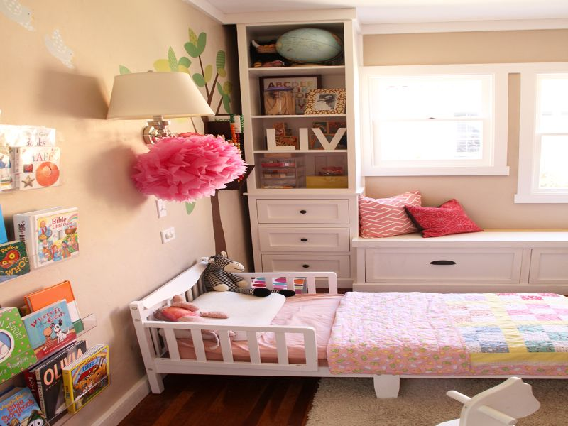 Picture of: Nursery Bookshelf Girls Room