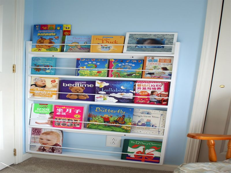 Picture of: Nursery Bookshelf Nice