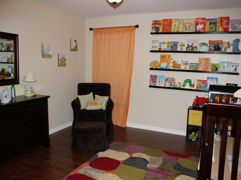 Picture of: Nursery Bookshelf for Boy
