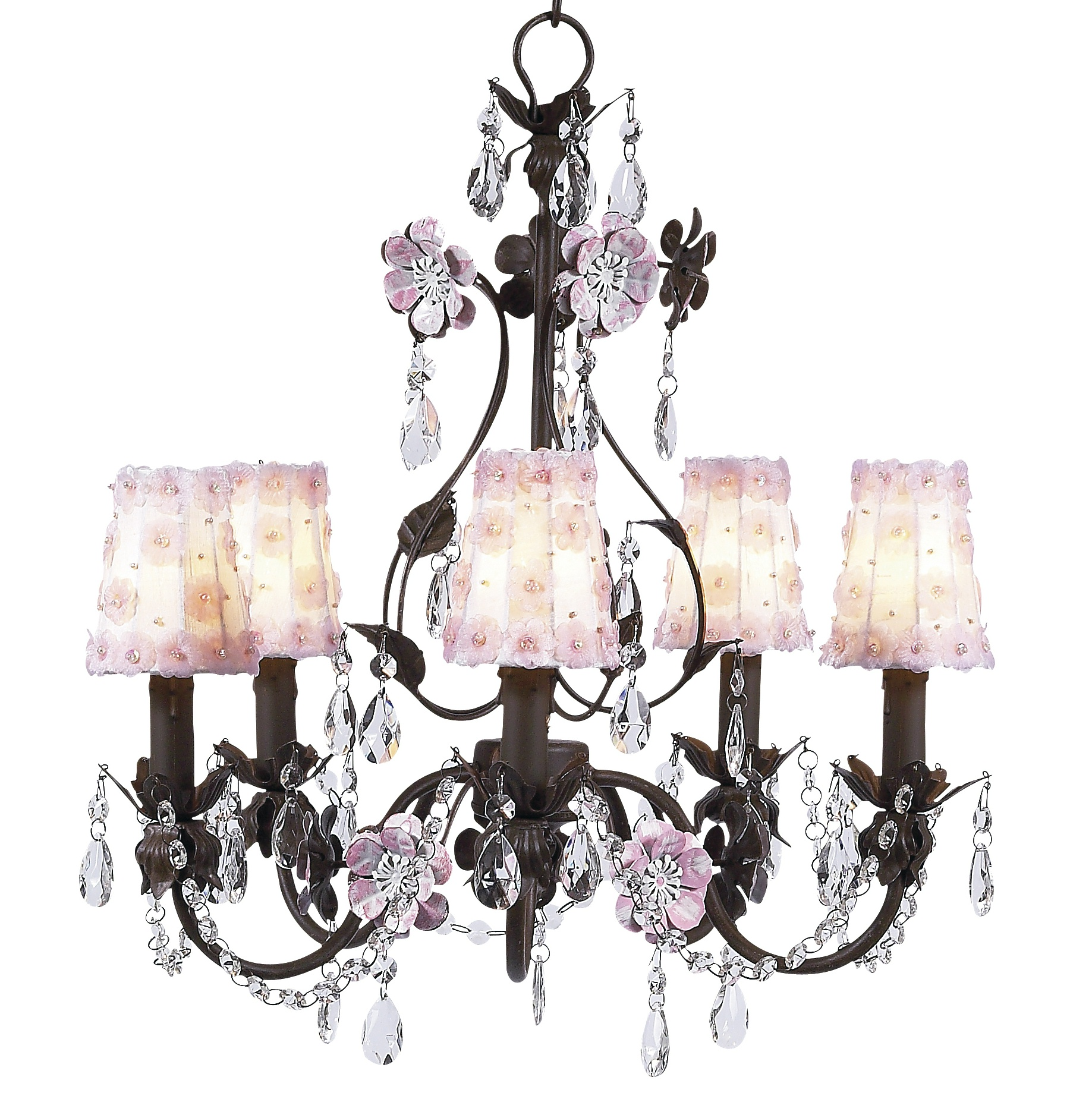 Nursery Chandelier Decorating
