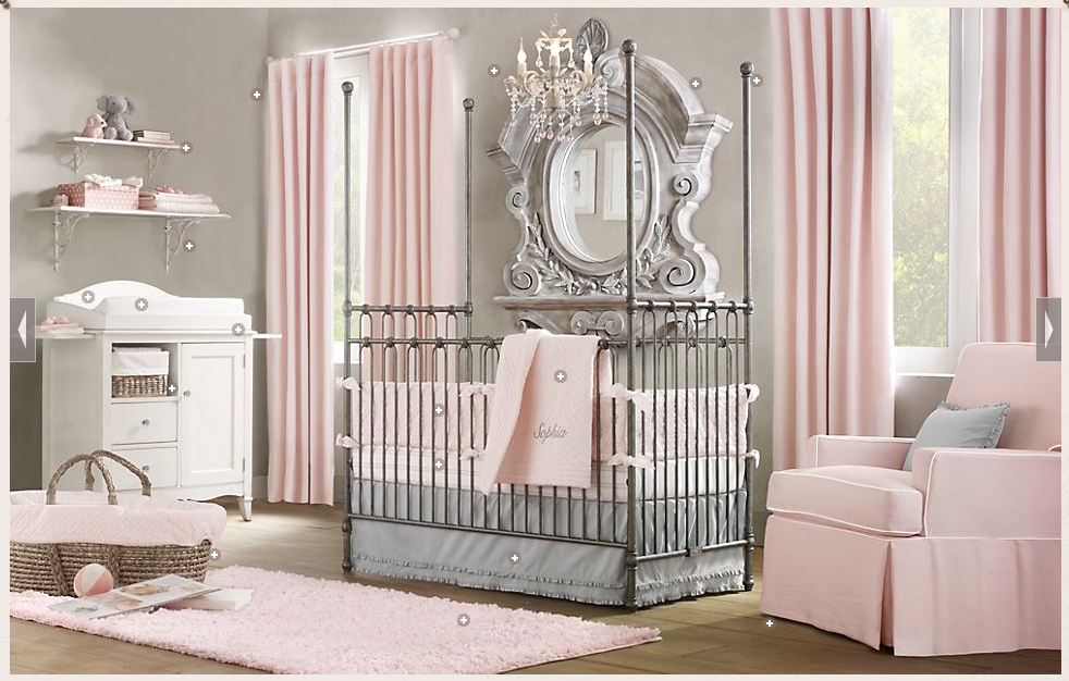 Picture of: Nursery Chandelier Ideas