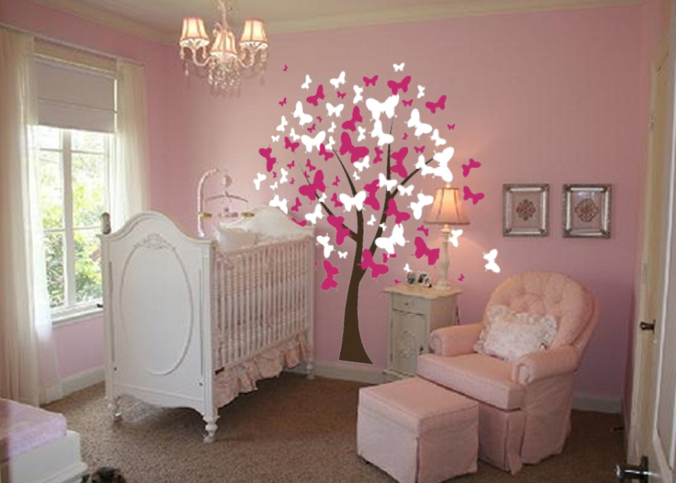 Picture of: Nursery Decals Butterfly