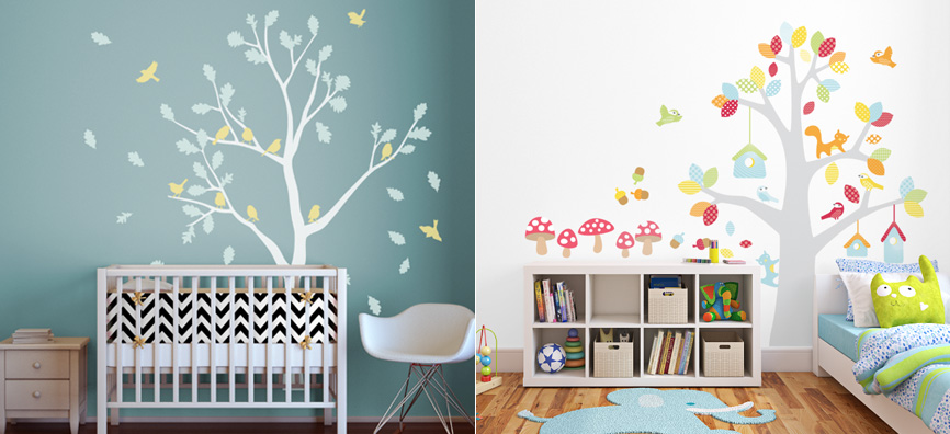 Picture of: Nursery Decals Tree Ideas