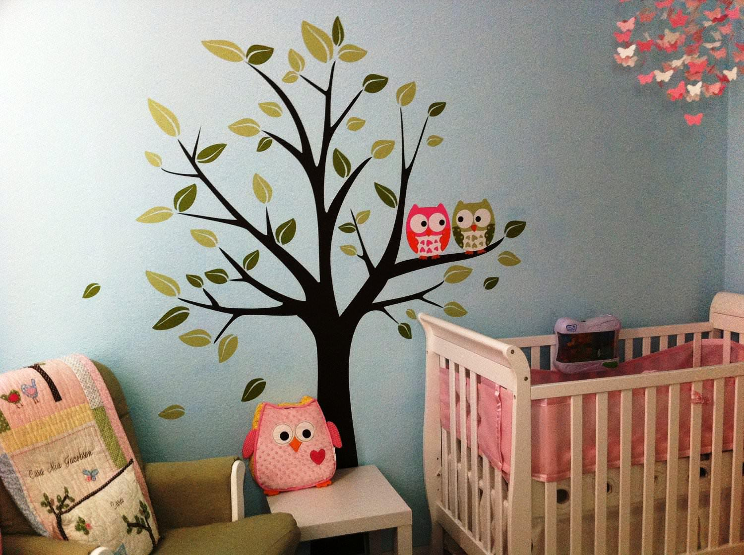 Picture of: Nursery Decals for Wall