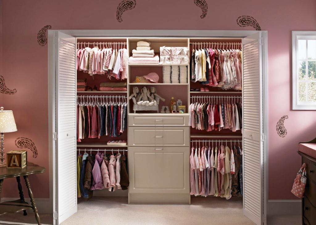 Image of: Nursery Organizer Baby Girls