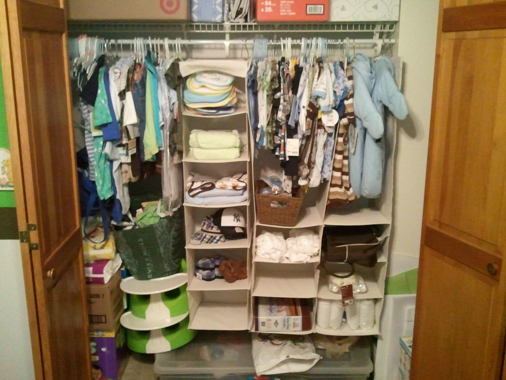 Picture of: Nursery Organizer Boys