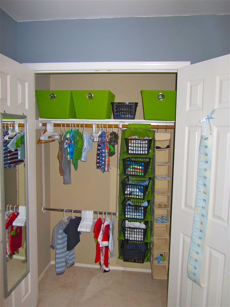 Image of: Nursery Organizer Diy