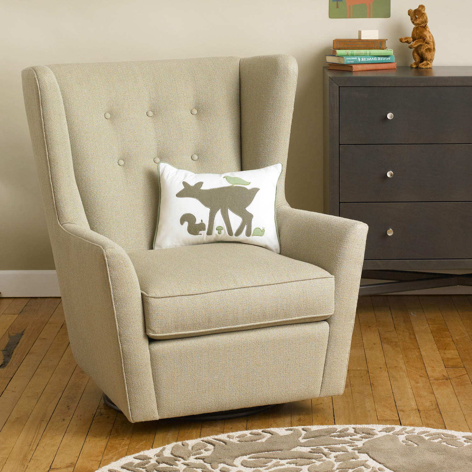 Nursery Recliner Plan