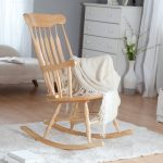 Nursery Rocking Chair glass