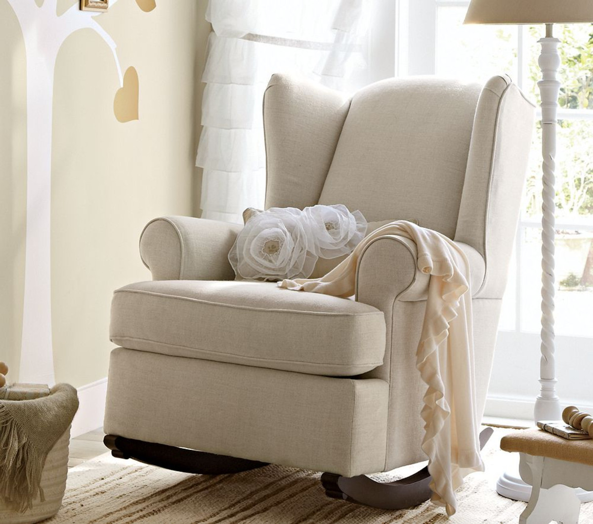 Picture of: Nursery Rocking Chair sweet