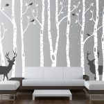 Nursery Wall Decals black