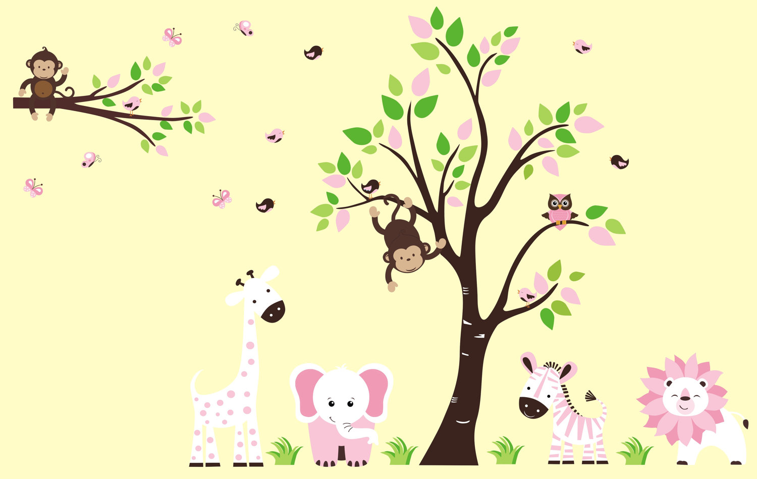 Picture of: Nursery Wall Decals came