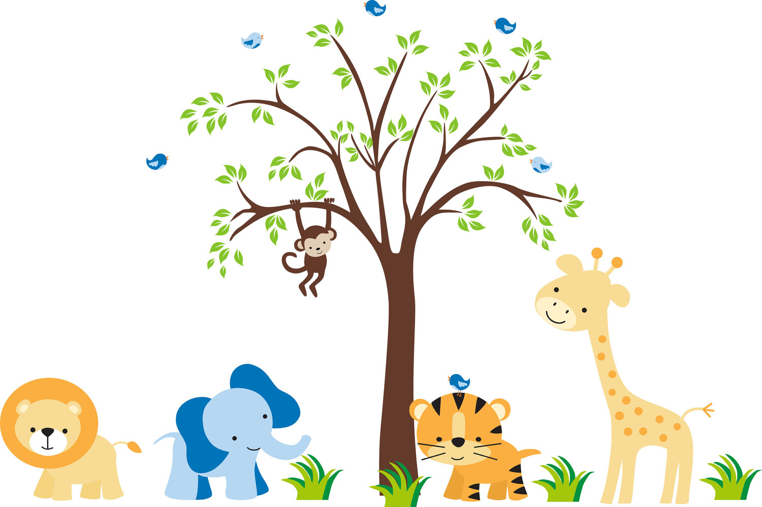 Picture of: Nursery Wall Decals grow