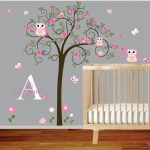 Nursery Wall Decals pink