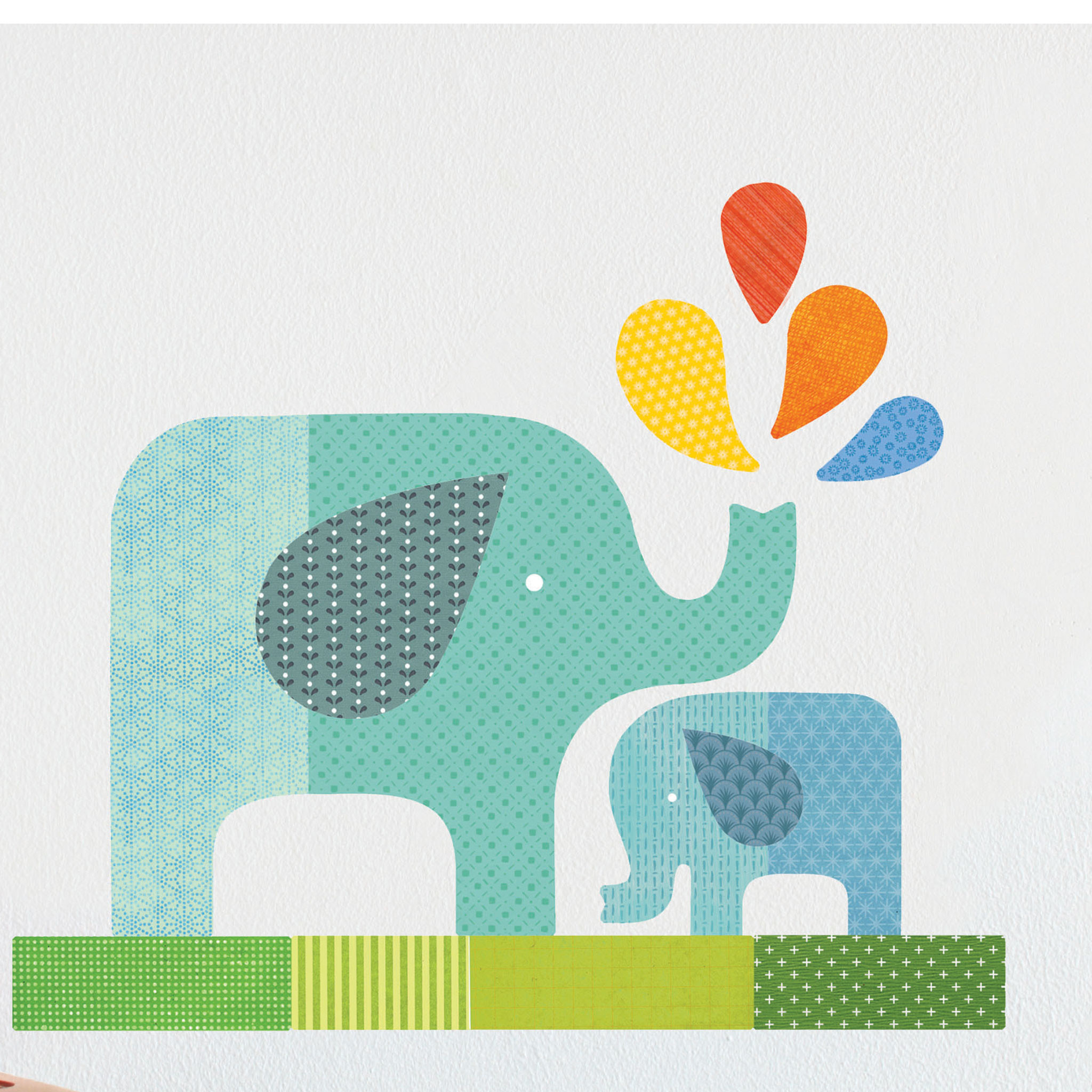 Picture of: Nursery Wall Decals slow
