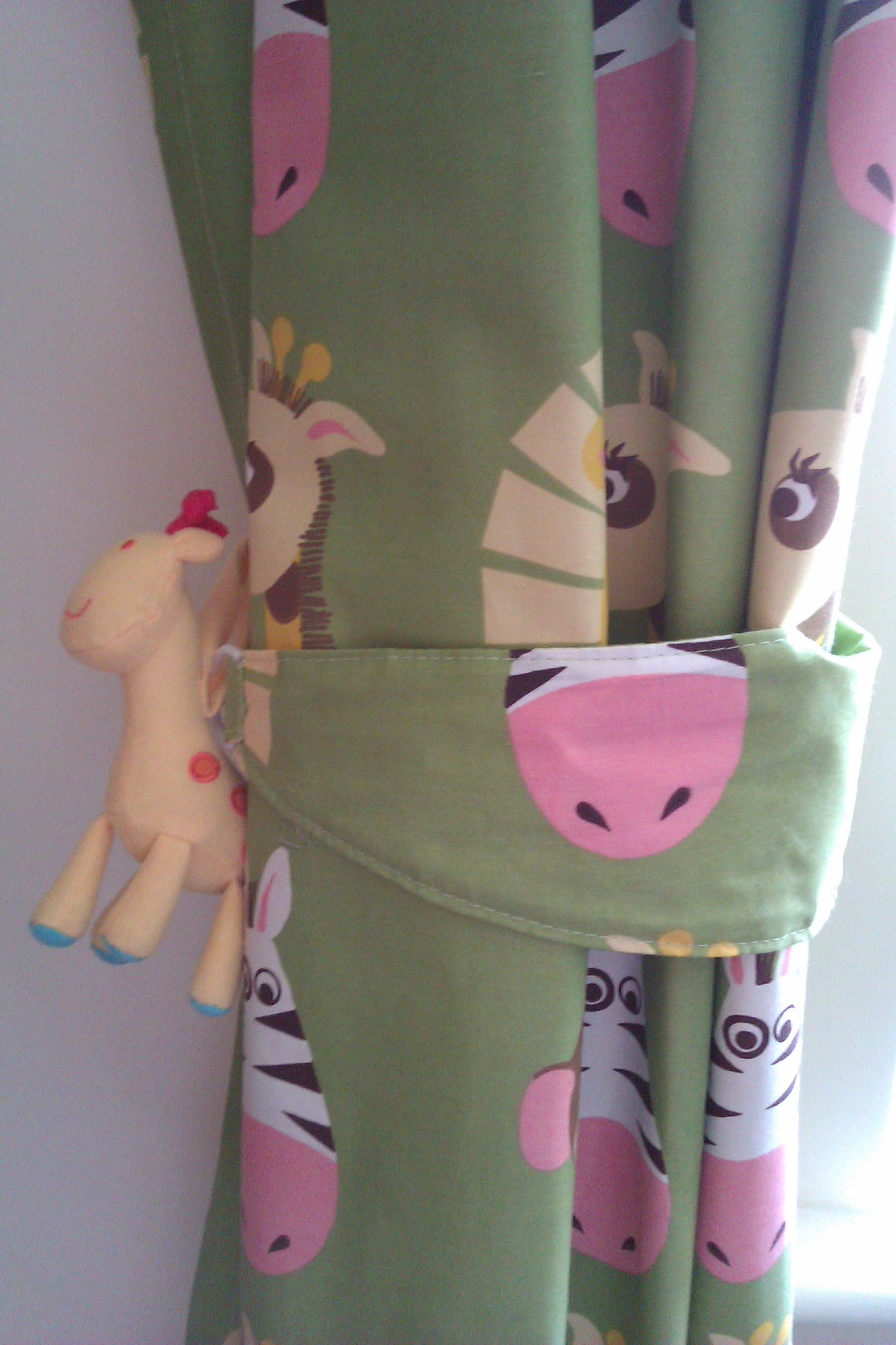 Picture of: Nursery curtains animal