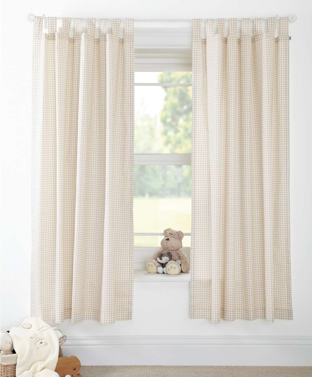 Picture of: Nursery curtains pattern
