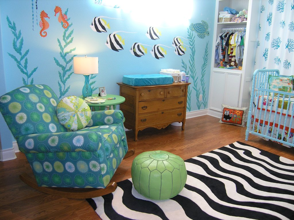 Picture of: Ocean Themed Nursery Image