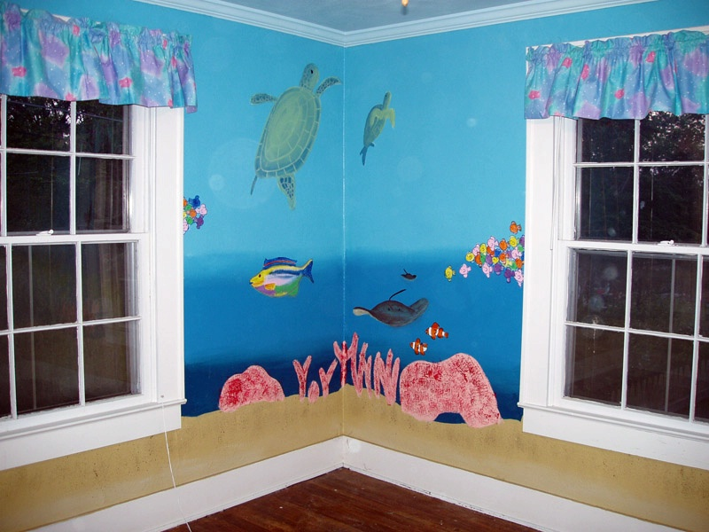 Picture of: Ocean Themed Nursery for Baby Room