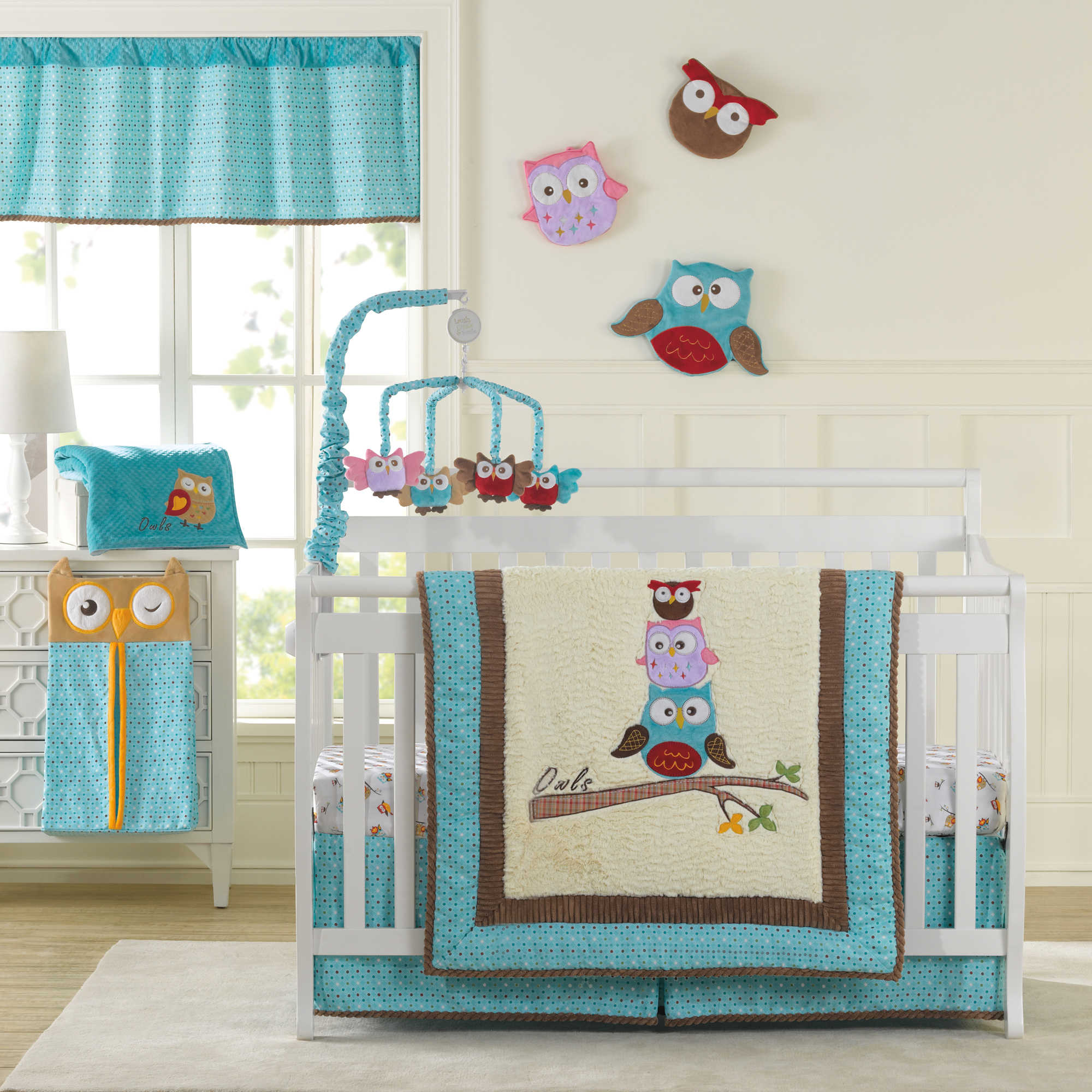 Picture of: Owl Nursery Bedding guest